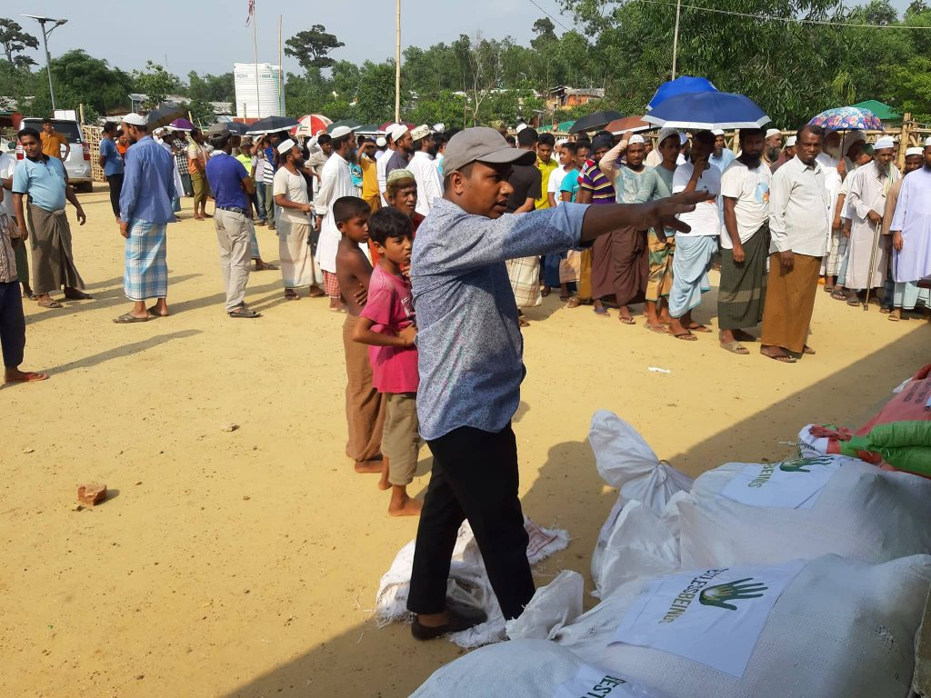RAMADAN FOOD DISTRIBUTION