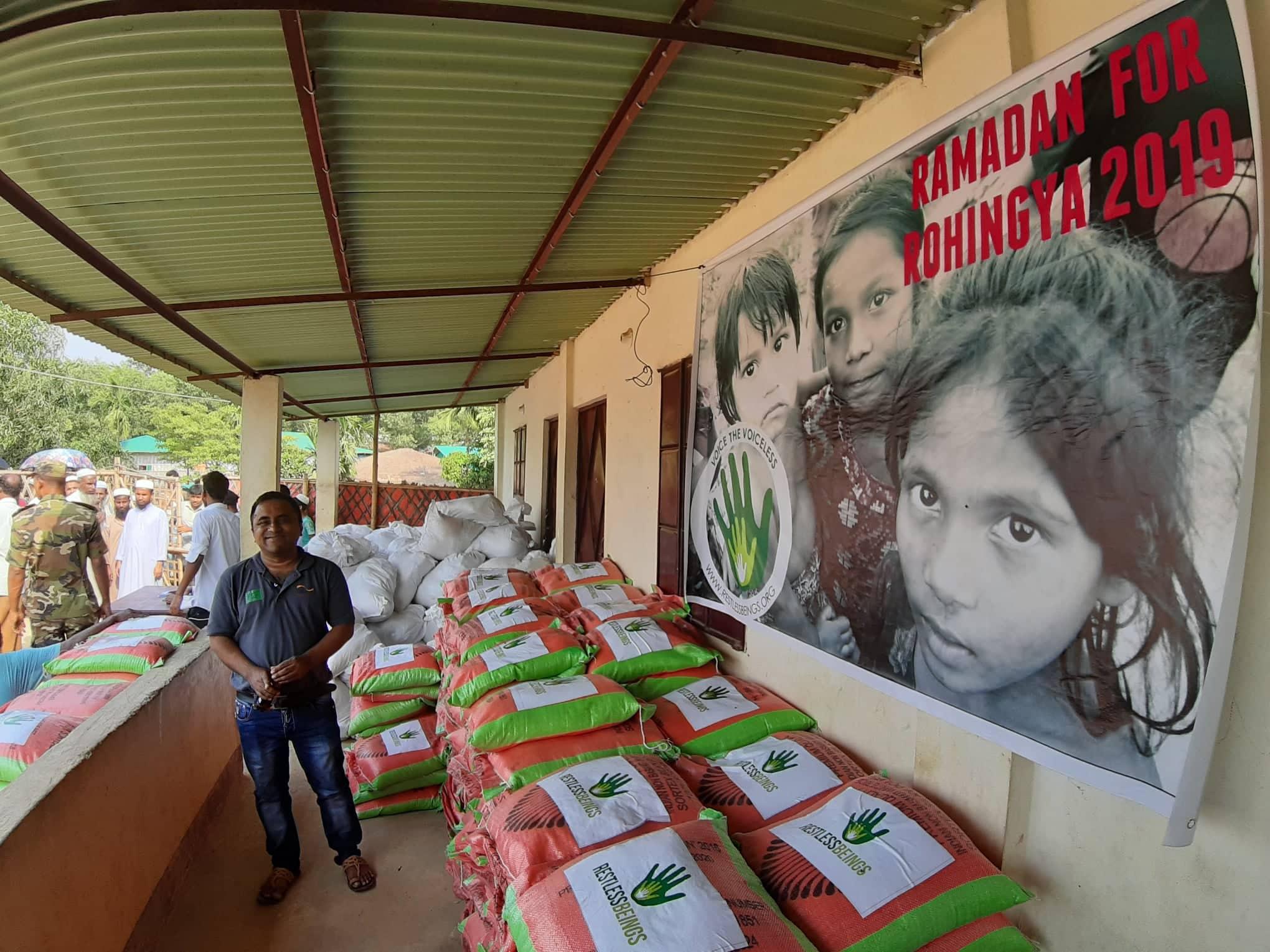 RAMADAN FOOD DISTRIBUTION